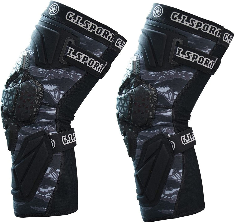 GI Sportz Race 2.0 Knee Pads Black