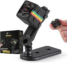 Mini Security Camera- Tiny Motion Sensor Camera- Night Vision- Nanny Cam Hidden Camera- Indoor & Outdoor Camera- Smart Hom...