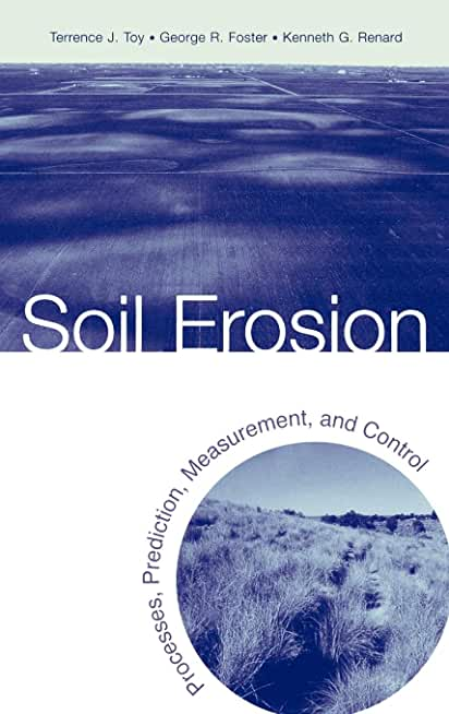 Soil Erosion: Processes, Prediction, Measurement, and Control