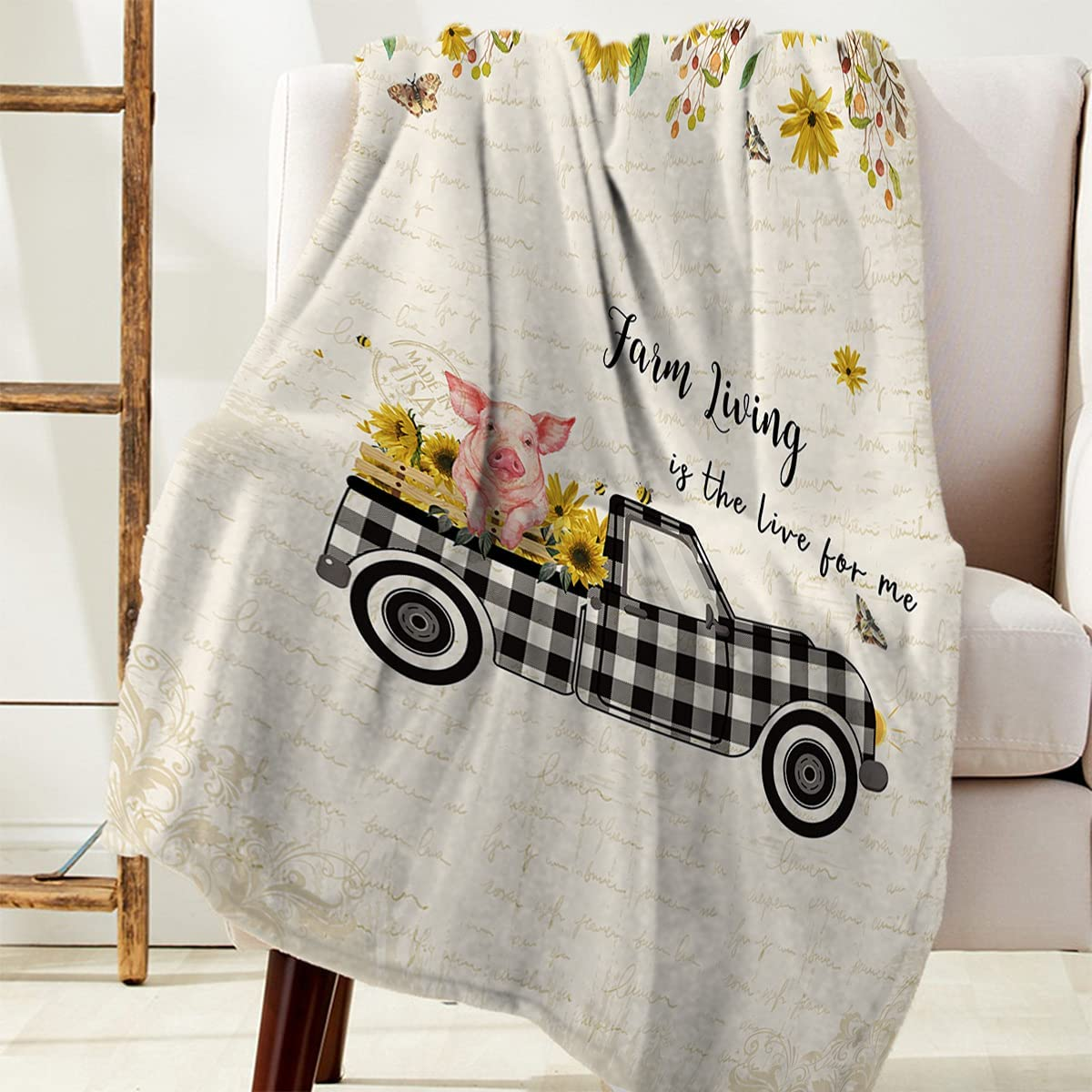 Fuzzy Fleece Blanket Throw for All Now free shipping Season Couch Luxury Selling rankings