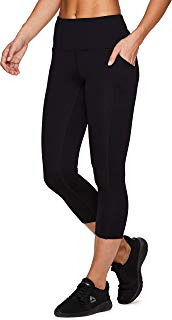 RBX Active Women's Power Hold High Waist Leggings with Pockets
