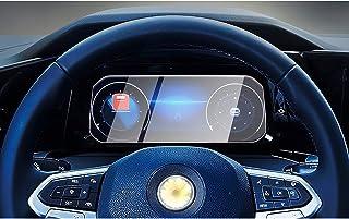 CDEFG voor V W Golf 8 beschermfolie auto navigatie glas 9H krasbestendig anti-vingerafdruk folie 10,25 inch GPS transparan...