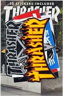 Best thrasher sticker 10 pack Reviews