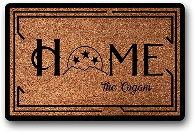 HOME Coir Doormat with TN Tristar
