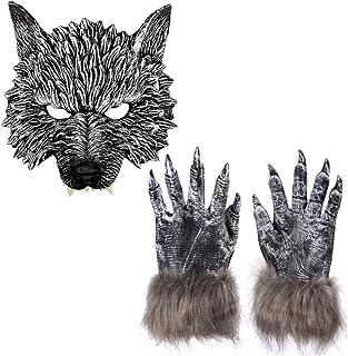 Baby Boys WEREWOLF Wolf Animal Halloween Costume Fur Ears 12 18 24 Months NEW