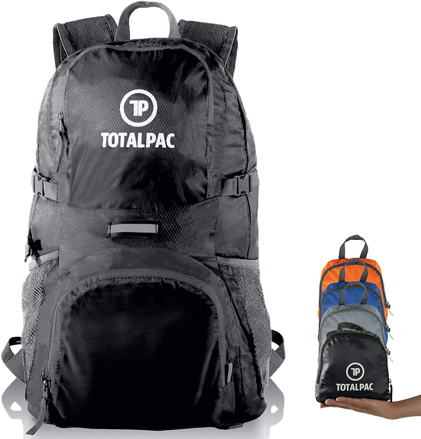 Totalpac - Opening large release sale Hiking Daypack – Foldable Traveling Backpack for Max 90% OFF
