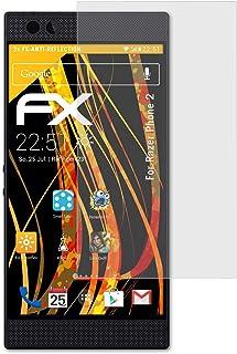 atFoliX Skärmskydd är kompatibel med Razer Phone 2 Skyddsfilm, antireflekterande och stötdämpande FX Film (3X)