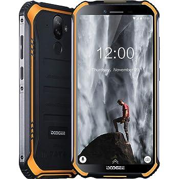 DOOGEE S40 Movil Libres Resistente 4G Telefonos, IP68 Antigolpes Impermeable Robusto Smartphone 4650mAh Batería, Android 9.0 Movil Todoterreno 3GB+32GB, 8MP+5MP Doble Cámara 5.5 NFC Movil, Naranja: Amazon.es: Electrónica