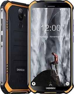 DOOGEE S40 Movil Libres Resistente 4G Telefonos IP68 Antigolpes Impermeable Robusto Smartphone 4650mAh Batería Android 9.0 Movil Todoterreno 3GB+32GB 8MP+5MP Doble Cámara 5.5 NFC Movil Naranja