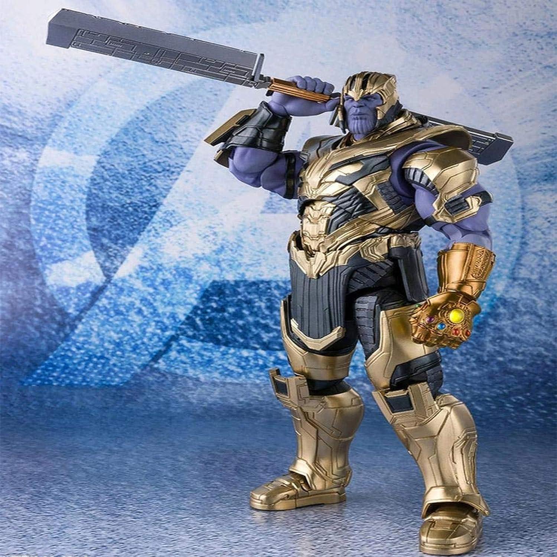 Marvel SHF Fighting Avengers Alliance Modell Spielzeug, Rüstung Gepanzerte Puppe Handmodell Zubehr, Geburtstag Halloween 18cm A