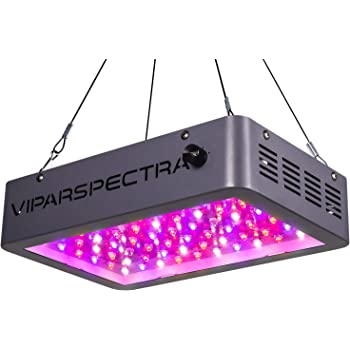 Plant Grow Light, VIPARSPECTRA Newest Dimmable 600W LED Grow Light, with Daisy Chain, Dual Chips Full Spectrum LED Grow Lamp for Hydroponic Indoor Plants Veg and Flower(10W LEDs 60Pcs)