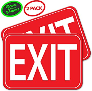 safe glow exit signs