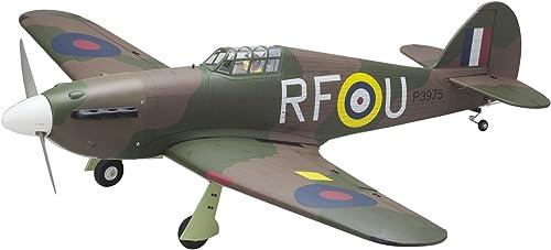 los clientes primero Kyosho Hawker Hurricane EP GP 1 8 SQS SQS SQS Scale Warbird Series Vehículo  marca famosa