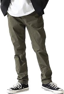 [ビームス] カジュアルパンツ ストレッチテーパードチノ オリーブ OD S メンズ