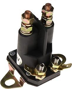 ZTUOAUMA Starter Solenoid Relay 12V 4 Terminals 14222 532 178861 145673 146154 for Craftsman LT2000 YS4500 20 HP Briggs Stratton Motor 192507 532192507 Husqvarna Craftsman Poulan AYP 12V