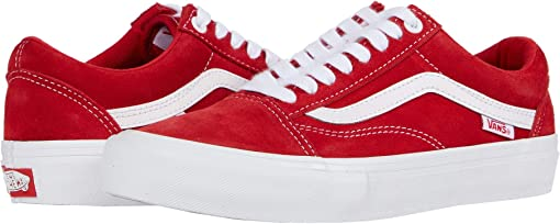 (Suede) Red/White