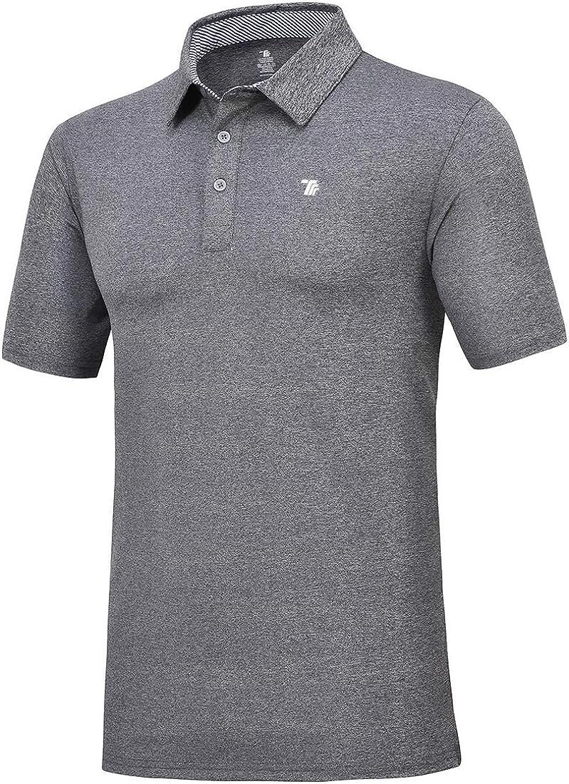 JINSHI Men's Dealing full price reduction Ranking TOP13 Golf Shirts Short Casual Sleeve Polo Qu