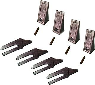 4 - Mini Excavator, 156 Series, Bolt On Shank, Bucket Teeth & Pins - 6808770
