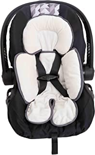 INFANZIA Head Support Grey Machine Washable Newborn Head Support for Car Seats and Strollers