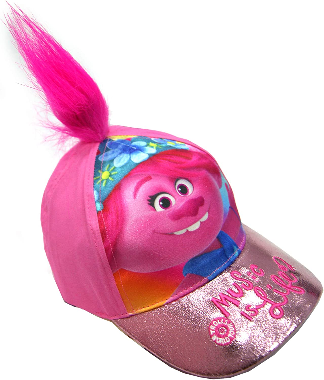 Trolls Cap Hat Baseball Wit Poppy Adjustable Sizes Hair 2 Las shopping Vegas Mall Of
