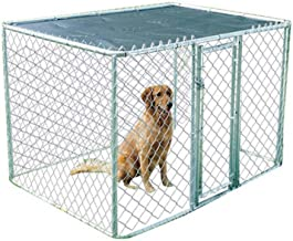 Midwest K9 Kennels Chain Link Kennel for Dog, Medium