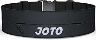 JOTO Running Belt Exercise Runner Belt, Sport Waist Pack for iPhone 11 Pro Max XS MAX XS XR X 8 7 Galaxy S10+ Note10+, Fli...