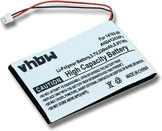 vhbw bateria 230 mAh (3,7 V) do Bluetooth, zestaw słuchawkowy Jabra Pro 9400, Pro 9460, Pro 9465, Pro 9470 zastępuje 1419...