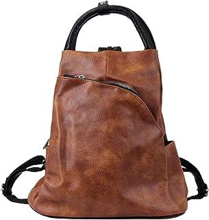 irisaa Damen Rucksack Daypack Tasche Umhänge Tasche Schulrucksack Schultertasche für Frauen und Mädchen