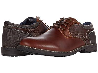 Nunn Bush Fuse Plain Toe Oxford (Brandy) Men