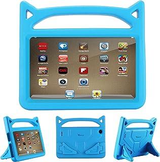 Riaour - Funda protectora para tablet Amazon Fire 7 (2015/7ª generación 2017)