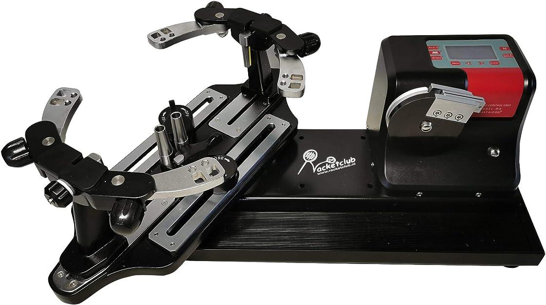 Incordatrice per racchette da tennis elettronica con sistema di tensionamento tondo racketclub flash-1 B08Y2G6754
