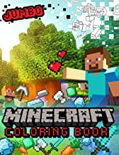 Minecraft Coloring Book: Amazing Jumbo Coloring Book With High Quality Images