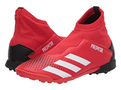 adidas Kids Predator 20.3 LL TF J Soccer (Little Kid/Big Kid) (Active Red/White/Black) Kids Shoes