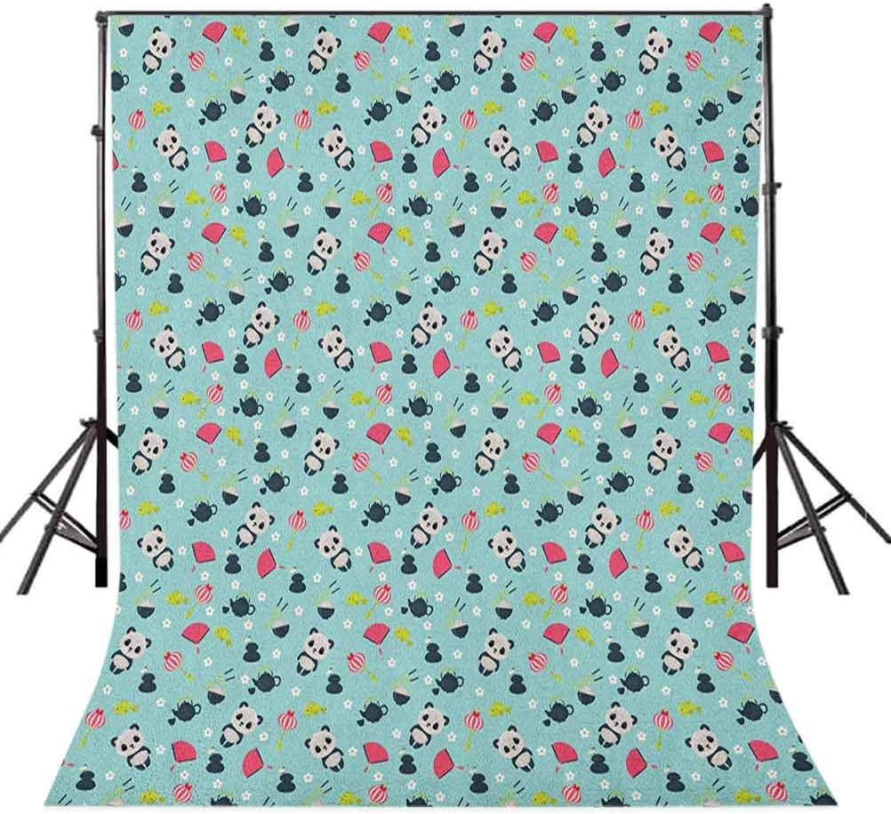 8x12 FT Turquoise Vinyl Photography Backdrop,Love Valentines Day Romance with Hearts Stars Wedding Happiness Theme Background for Baby Birthday Party Wedding Studio Props Photography