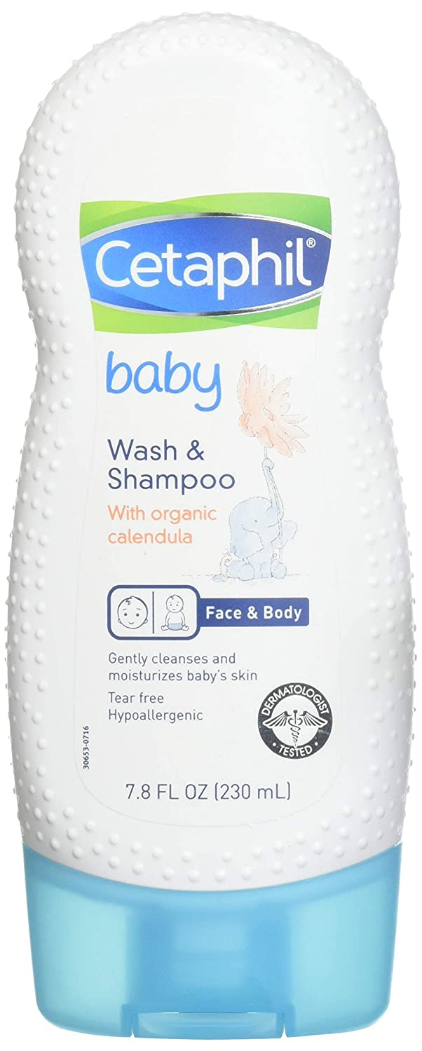 Cetaphil Baby Wash Gorgeous and Shampoo Popular popular Calendula with 7.8 Ounce Organic