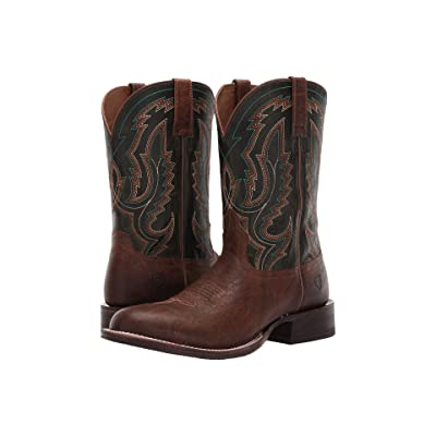 Ariat Circuit Competitor (Tobacco Toffee/Rifle Green) Cowboy Boots