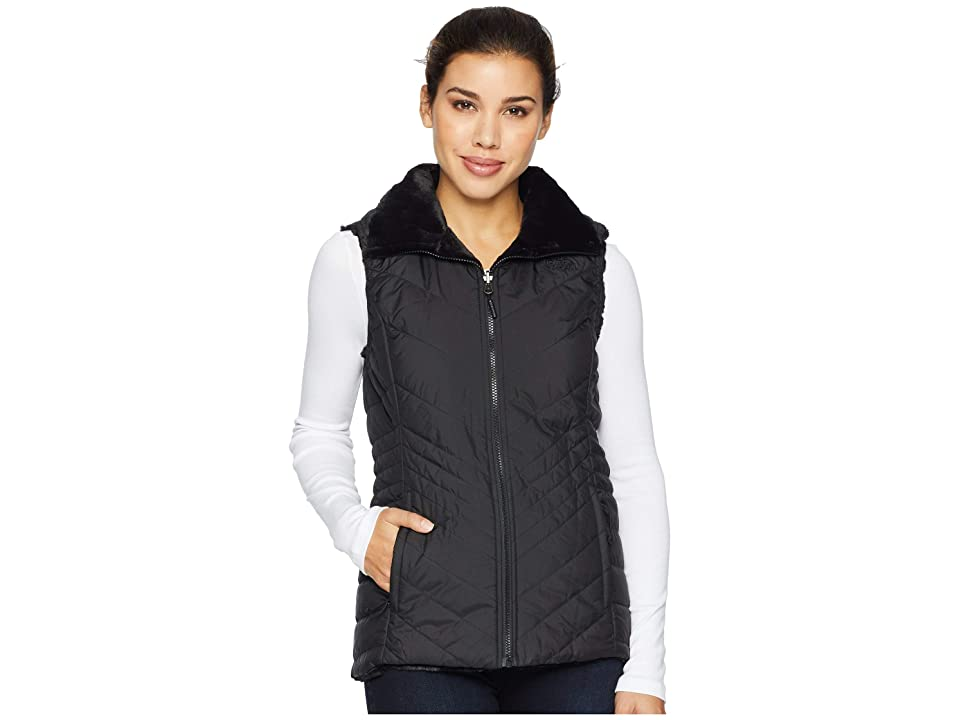 The North Face Mossbud Insulated Reversible Vest (TNF Black) Women