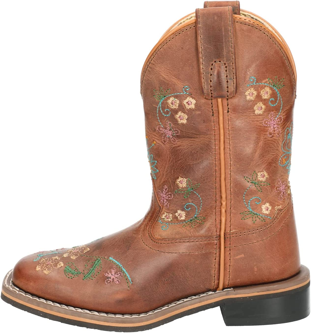 Ranking TOP13 Smoky Children's Kid's Floralie Free shipping on posting reviews Leather Boot Cowboy Western