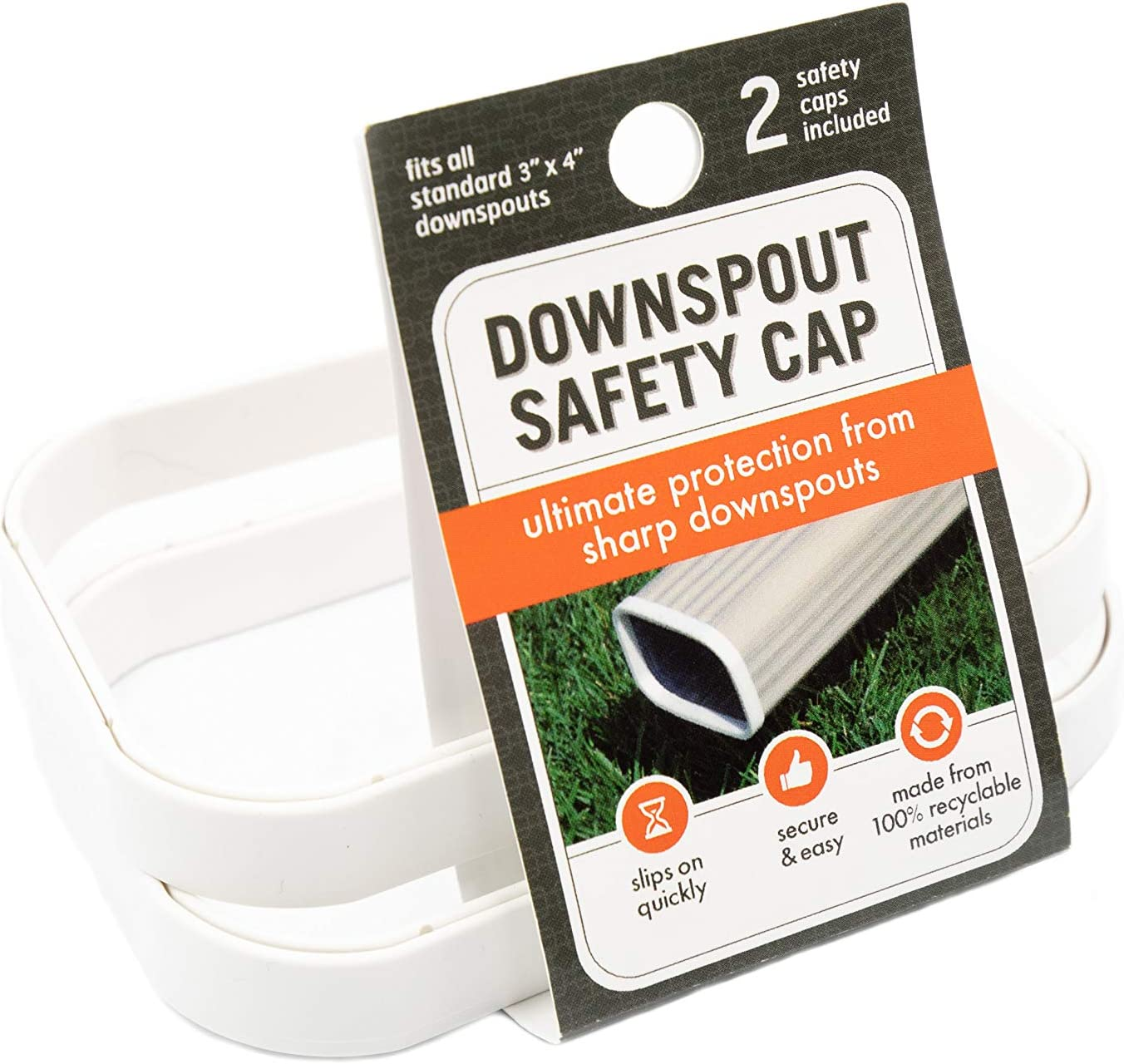 Downspout Topics on TV Safety Cap Gutter Super Special SALE held K Adults Protection for