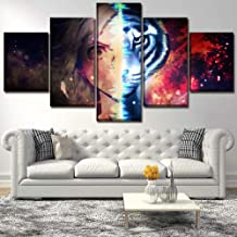 Canvas painting wall art poster 5 panel anime Bungou stray dog modular picture for living room home decoration frame