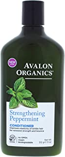 Organics Strengthening Peppermint Conditioner by Avalon for Unisex - 11 oz Conditioner
