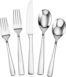 Mikasa 5084358 Delano 20-Piece Stainless Steel Flatware Set, Service for 4