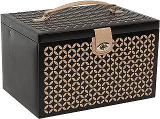 WOLF Chloé Large Jewelry Box, Black