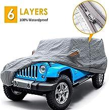 Coverdale Int/érieur de Housse de Protection Auto pour Jeep Wrangler JL 4x4 4Door 2018