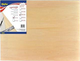 Helix Wooden Lightweight Drawing Board, 20 x 26 Inch, Plain Edge (37413)