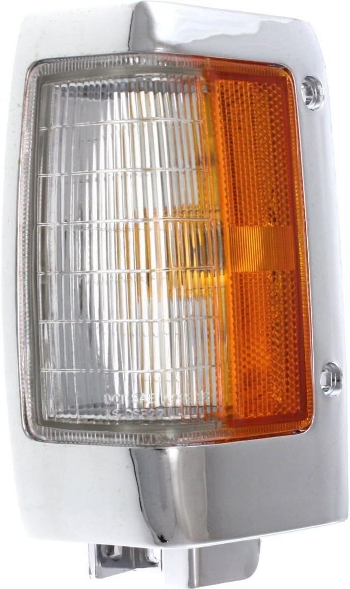 Corner Light Oklahoma City Mall For 95-97 Nissan Pickup Driver chrome w trim Incand store