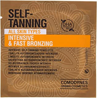 8 Pack Comodynes Self-Tanning Intensive & Uniform Color 1 Unit | Natural & Even Body Tan | Suitable for all Skin Types | F...