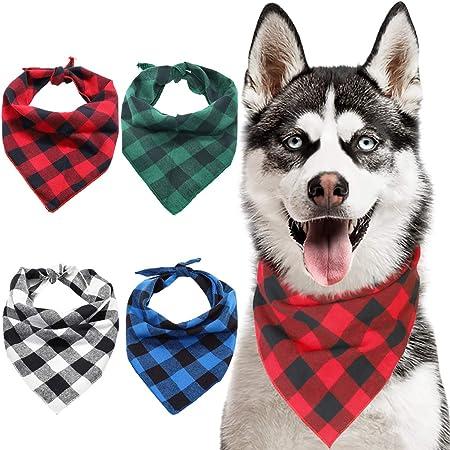 Wild at Heart  Black Mountains Cream Bears  Dog Bandana  Reversible Dog Bandana