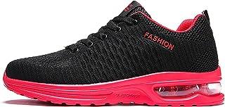 Herren Air Cushion Laufschuhe Mesh Layer Sneaker Lace Up Athletic rutschfeste Atmungsaktive Weiche Sportschuhe 39-47