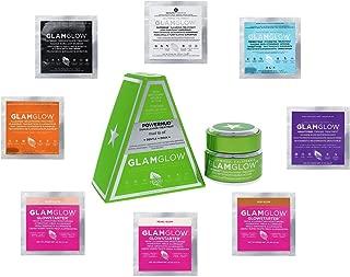 GlamGlow POWERMUD 1.7 ounce PLUS Sampler of 1 ea YOUTHMUD(0.17 oz), SUPERMUD(.07 oz), THIRSTYMUD(0.10 oz), POWERMUD(0.10 oz), FLASHMUD(0.10 oz), GRAVITYMUD(0.17 oz), GlowStarter Pearl, Sun & Nude Glow